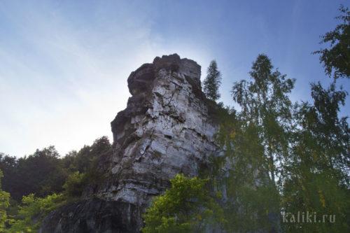 Скальный выступ на Верблюд-горе