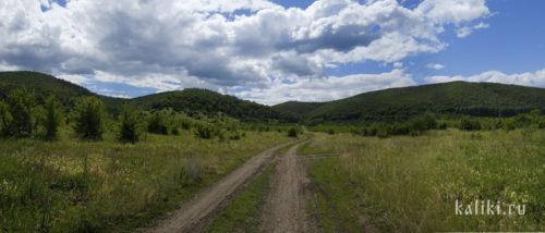 Устье Ширяевской долины