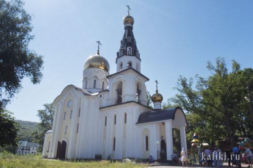 Храм св. Николая Чудотворца в Солнечной Поляне